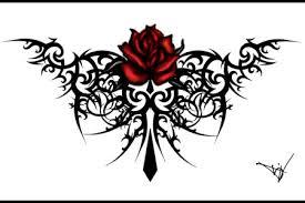 roses tattoo stencils