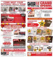floor and decor stores floor decor potomac mills grand opening celebration gregslistdc
