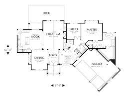 Craftsman Style Open Floor Plans 986 Best House Plans Images On Pinterest House Floor Plans