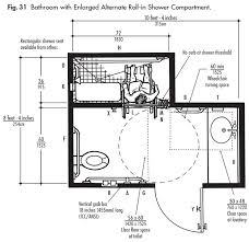 Handicapped Bathroom Showers Ada Design Solutions For Bathrooms With Tub And Shower