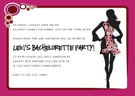 bachelorette party invite template cimvitation
