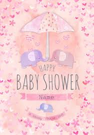 baby shower cards invitations funky pigeon