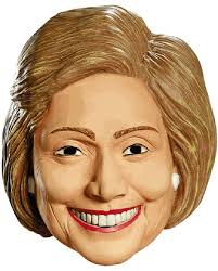 hillary clinton mask caufields com