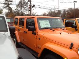 orange jeep wrangler crush orange 2012 wrangler unlimited sahara with color match top