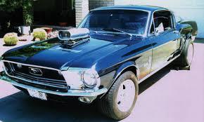 Black 68 Mustang Fastback Mustang Performance Parts Roush Saleen Parts Part 57