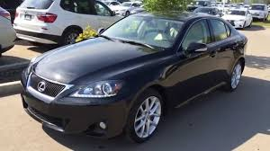 lexus is sedan 2007 lexus certified pre owned black 2012 is 350 awd luxury navigation