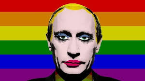Gay Gay Gay Meme - why did russia ban the image of vladimir putin as a gay clown