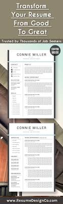 ideas about Good Resume on Pinterest   Resume Examples  Free     Pinterest Transform your resume from good to great  Trusted by thousands of job seekers