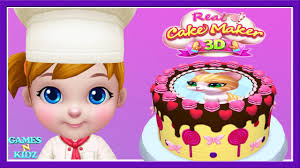 fun cooking for kids baby boss cook cakes games real cake