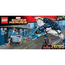 lego city jeep lego super heroes 76032 the avengers quinjet city chase new