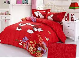 Red Mickey Mouse Twin Bed In A Bag Popular Mickey Mouse Twin Bed