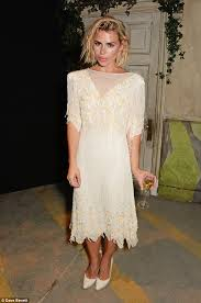 Icon Billie Piper As Belle De Jour Wearitforever Billie Piper Goes Glam In Cream Dress As She Attends Theatre Gala