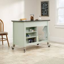 island trolley kitchen original cottage mobile kitchen island 414385 sauder