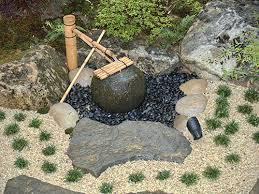 japanese garden ornaments water garden basin tsukubai