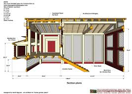 Look Up House Blueprints Chicken House Plans With Set Up Inside Chicken Coop 10595