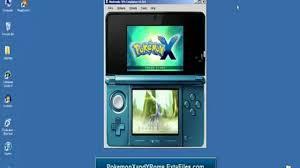 pokemon x and y download pc emulator desmume game rom free