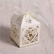 candy favor boxes wholesale avebien 50pcs hollow out heart wedding decoration laser cut