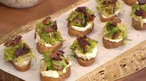 Thanksgiving Appetizers Easy Bobby Flay U0027s Easy Make Ahead Thanksgiving Appetizers Crostini
