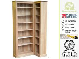 White Oak Bookcase by Bookcases Ideas Corner Bookcases Free Shipping Tall Corner