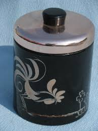 rooster kitchen canister sets vintage ransburg roosters kitchen canister set black copper pink