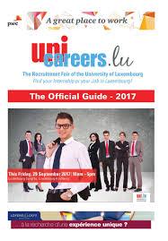 unicareers lu the unique recruitment fair of the of unicareers 2017 pdf flipbook