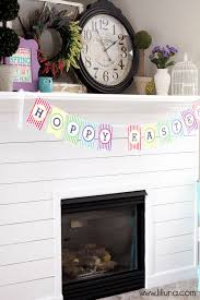 Easter Fireplace Mantel Decorations by Easter Mantel