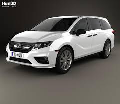 custom honda odyssey honda odyssey lx 2018 3d model hum3d