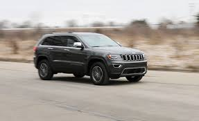 jeep grand cherokee limited 2018 jeep grand cherokee in depth model review car and driver