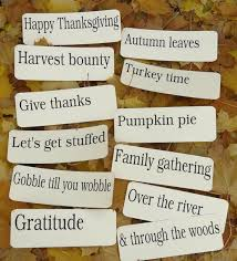 items similar to 12 large thanksgiving fall flash cards vintage