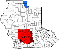 Illinois State Map With Cities by Illinois Indiana Kentucky Tri State Area Wikipedia