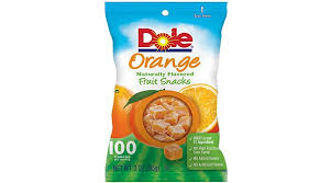 dole fruit snacks dole fruit snacks orange 3 ounce pack of 8 lowest price