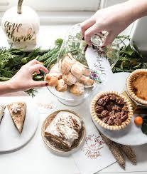 thanksgiving dessert buffet goods by hooper