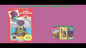 barney day at the beach 1991 vhs opening u0026 closing youtube