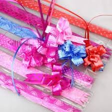 pull bow ribbon pink and etc pull bow ribbon rs 2 packet v i p sales id