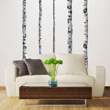 amazon com birch tree wall decals home kitchen