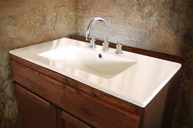 ventamatic sauberzen self rimming bathroom sink with faucet center