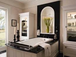 Large Master Bathroom Floor Plans Bathroom Dark Brown Vanity Cabinets White Waterfall Shower White