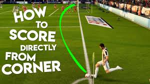 fifa 18 how to score directly from corner kic with loop