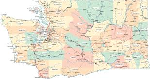 Portland Oregon County Map by Washington Rover Locations Wa Counties