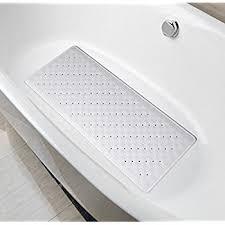 Size Bathtub Amazon Com Natural Rubber Mildew Resistant Non Slip Bath Mat 15 W