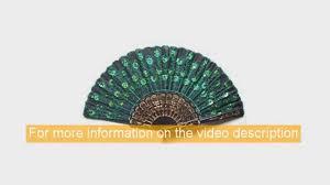 peacock fan best classical fabric silk fan with peacock pattern