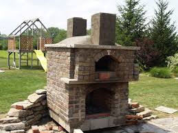 Pizza Oven Fireplace Combo by A Quick Photo History Forno Bravo Forum The Wood Fired Oven