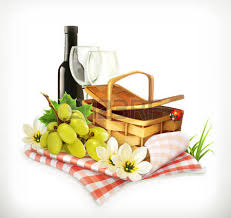Wine Picnic Baskets 3 021 Picnic Basket Cliparts Stock Vector And Royalty Free Picnic