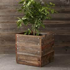 diy williams sonoma inspired wood planter mom in music city
