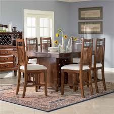 Broyhill Furniture Houston by Broyhill Furniture Vantana Seven Piece Counter Height Table And