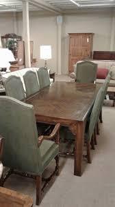 henredon oak table w 8 chairs delmarva furniture consignment