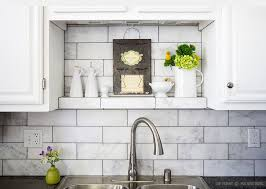 marble subway tile kitchen backsplash large white subway marble kitchen backsplash tile with black
