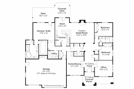 Ranch Plans by Prairie Style House Plans Creekstone 30 708 Associated Designs