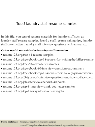 construction superintendent resume sample laundry worker sample resume school psychologist sample resume laundry worker sample resume construction superintendent sample top8laundrystaffresumesamples 150730023839 lva1 app6892 thumbnail 4 laundry worker sample