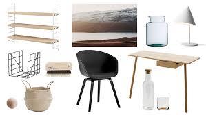 design essentials home office 12 scandinavian home office essentials style minimalism